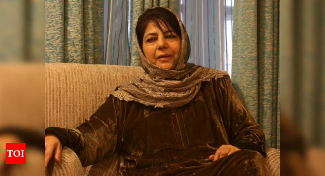 Mehbooba Mufti freed, just ahead of Supreme Court hearing - Times of India