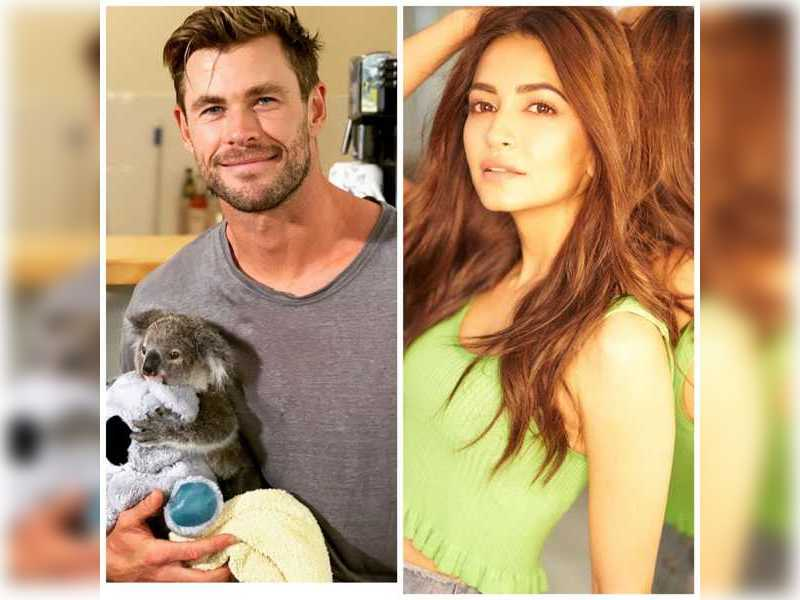 Kriti Kharbanda and Chris Hemsworth to talk about wellbeing this Thursday