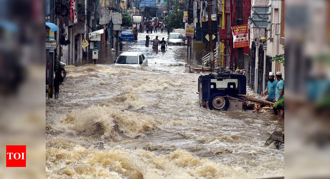 Why floods occur in Hyderabad - Times of India
