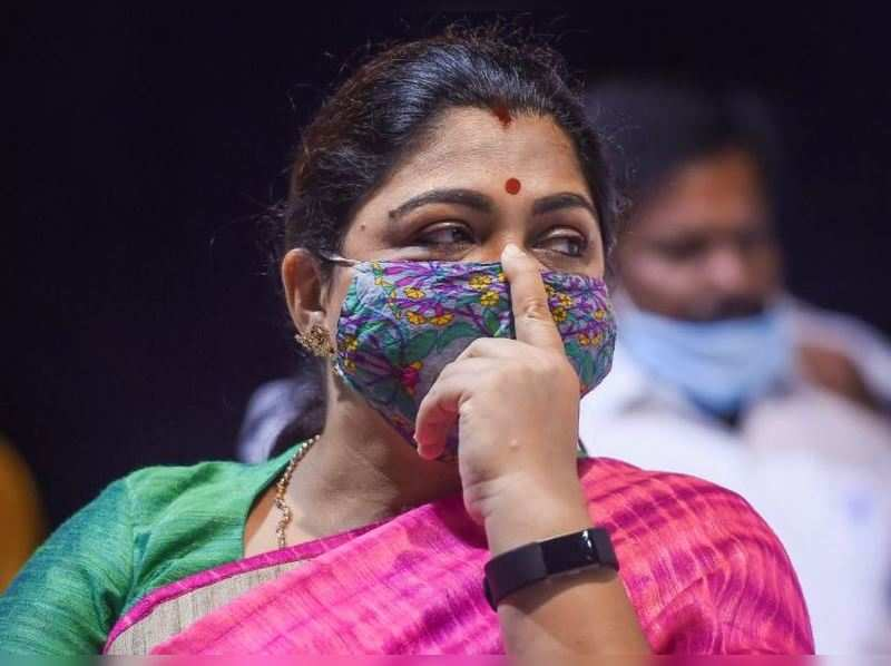 Actor-turned-politician Kushboo Sundar