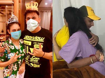 Prince-Yuvika recover from dengue; see pic