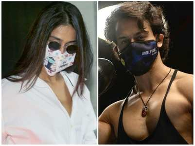 Celebs opt for masks with quirky messages