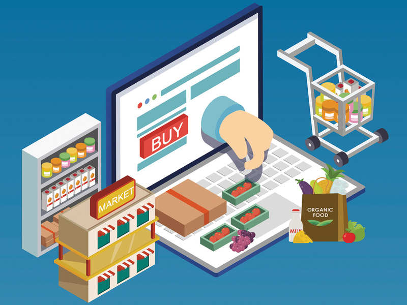 Online Grocery Shopping: How online grocery shopping is clicking with  consumers amid COVID-19