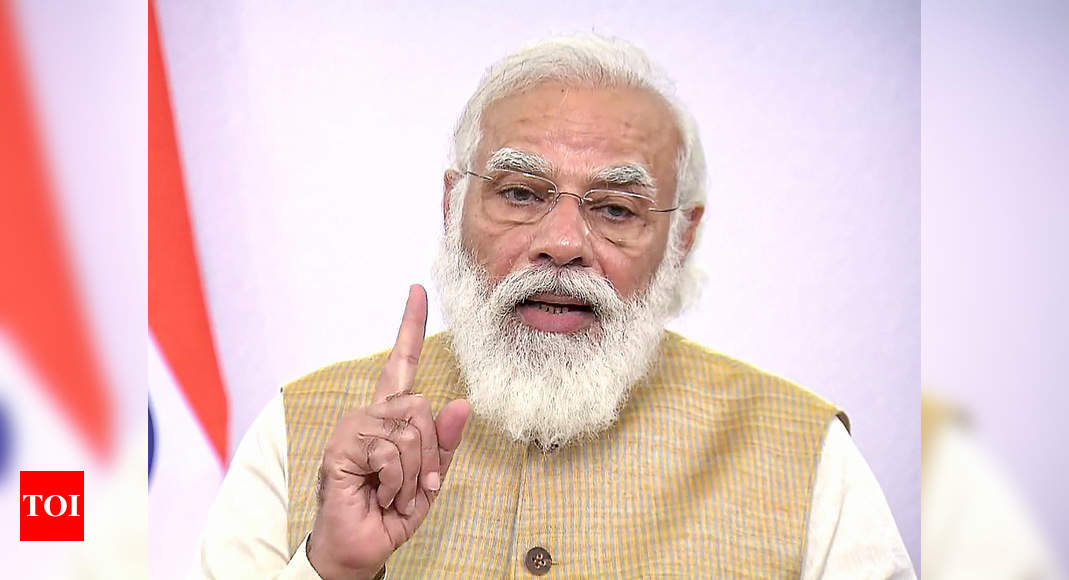 PM Modi calls for scaling up of Covid testing, sero surveys - Times of India