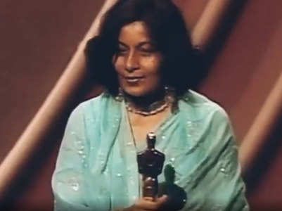 Watch: Bhanu Athaiya's Oscar-winning moment