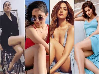 Pics: Tollywood divas flaunt their toned legs
