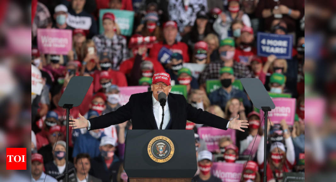 US election roundup: Duelling Town Hall for Trump, Biden; Democrats urge early voting – Times of India