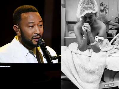 John Legend pays emotional tribute to wife