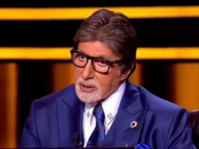 KBC12: Big B admits to doing 'jhaadu pocha'