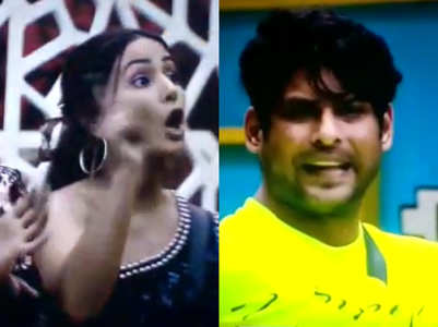 BB14: Major argument between Hina, Sidharth