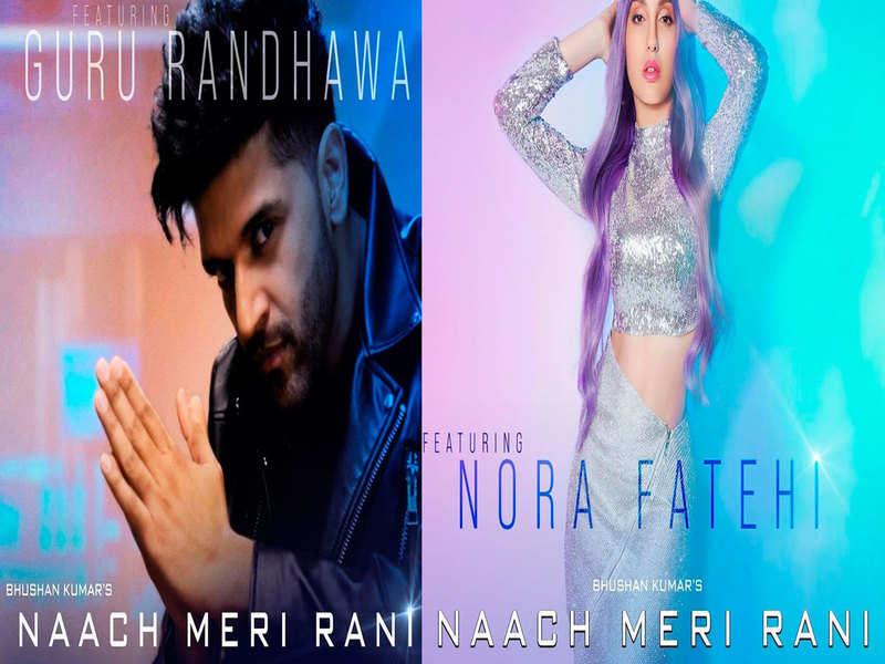 Naach Meri Rani: Posters of Guru Randhawa ft. Nora Fatehi's song are out
