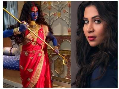 Parineeta on donning the Goddess Kali look