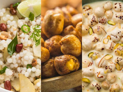 6 healthy Navratri foods for a healthy fasting routine
