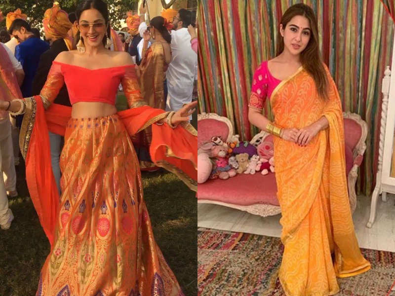 Navratri colour of the day: How to wear orange shade on the second day of Navratri 2020