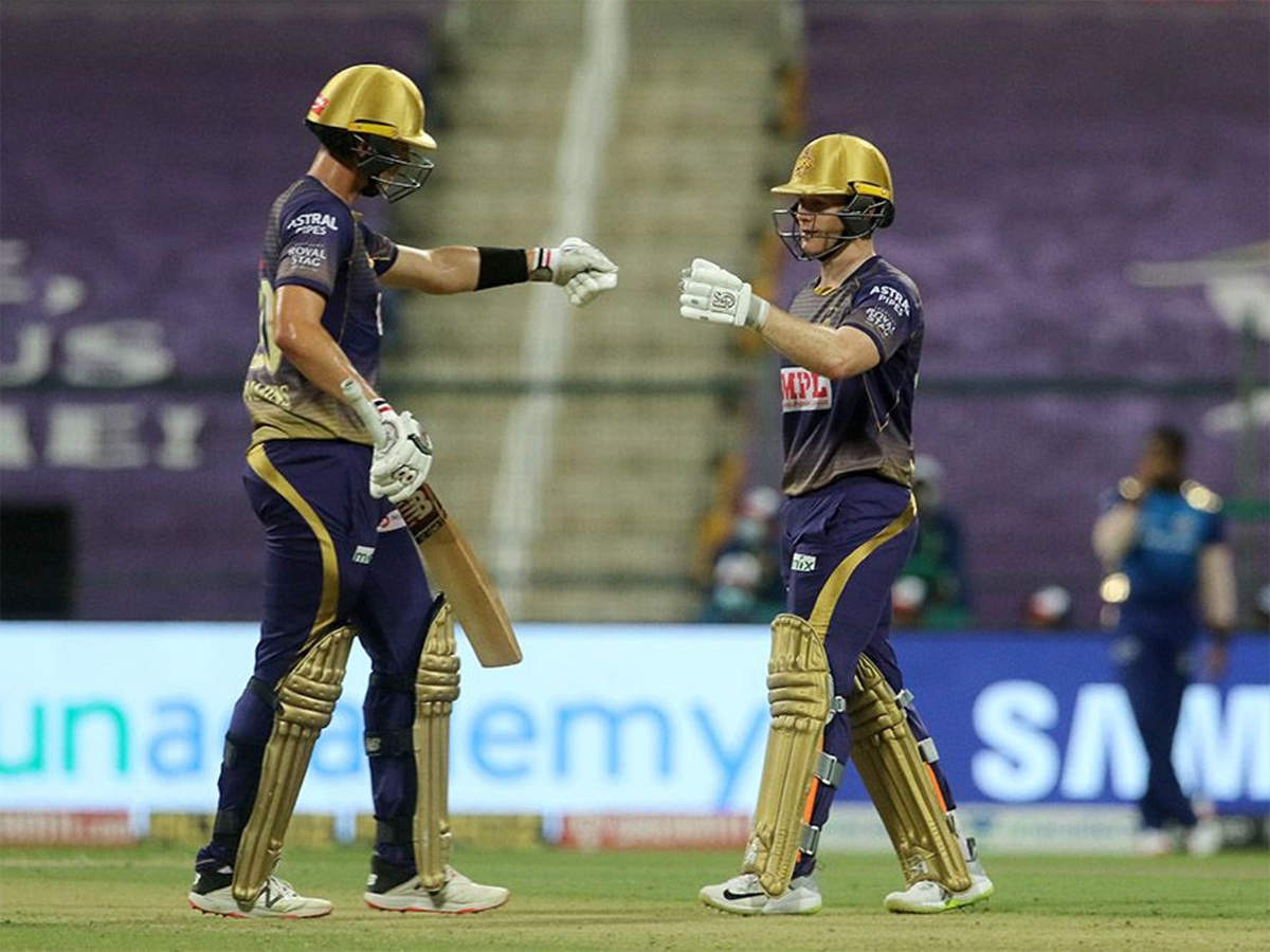 MI vs KKR: Cummins, Morgan lift Kolkata Knight Riders to 148/5 against Mumbai  Indians | Cricket News - Times of India