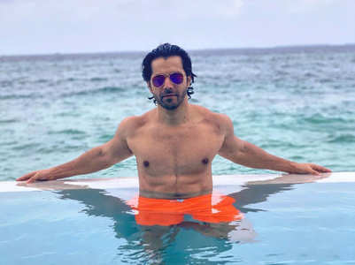 Varun shares a shirtless picture on Instagram