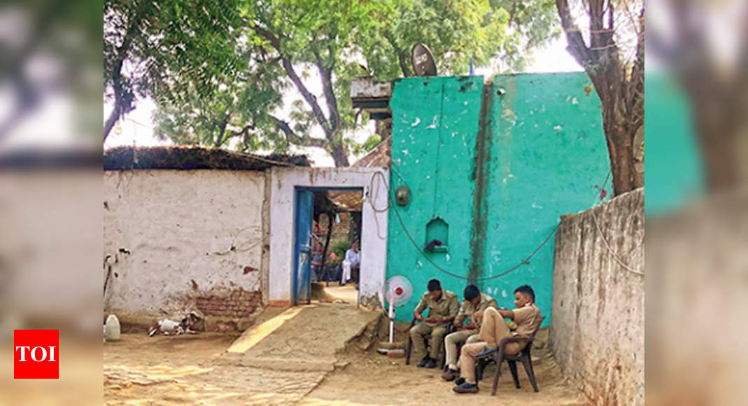 Month on, Hathras village shuts itself in silence - Times of India
