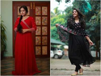 5 celeb-inspired Anarkalis for Navratri