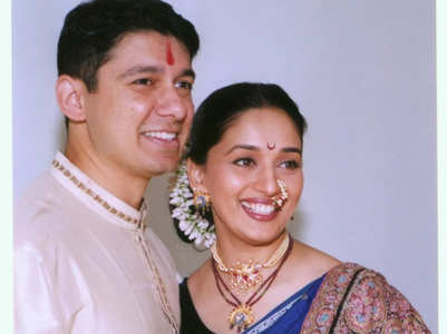 Madhuri's post on her marriage anniversary