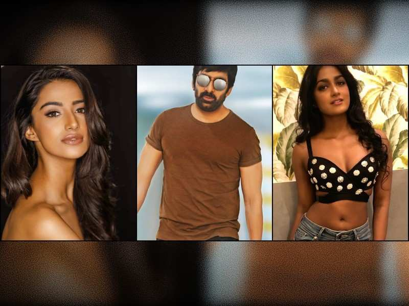 Ravi Teja teams up with Meenakshi Chaudhary and Dimple Hayathi for #RT67