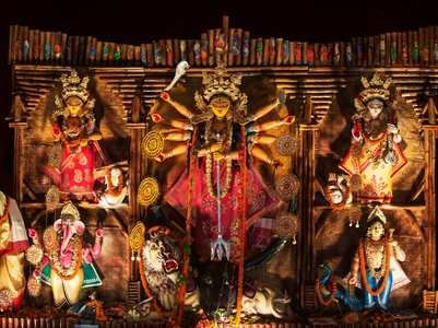 Goddess Chandraghanta, the third form of Durga