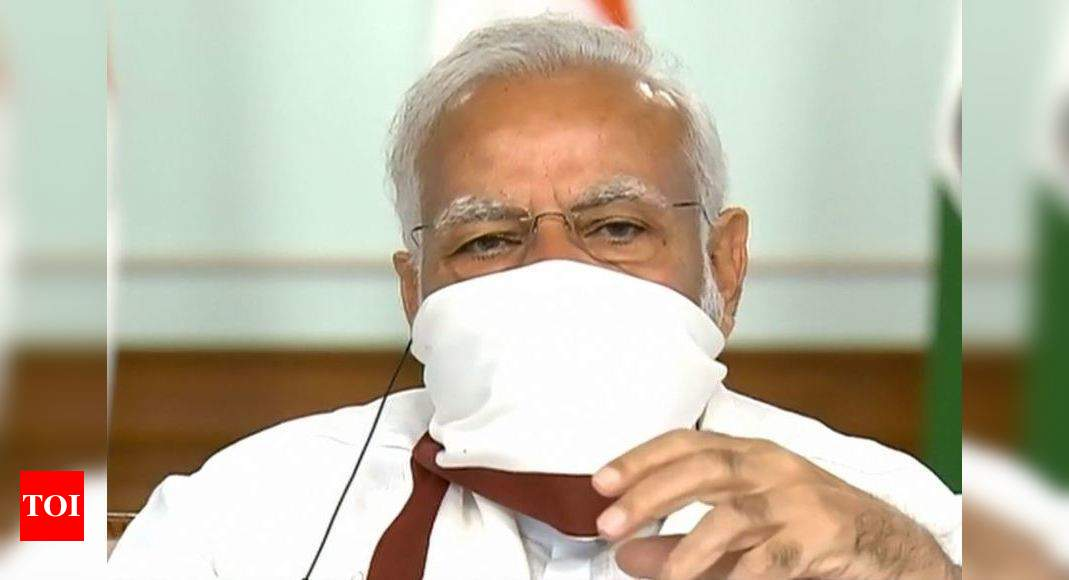 Covid-19: PM cautions against complacency; no major mutation in virus, says PMO - Times of India