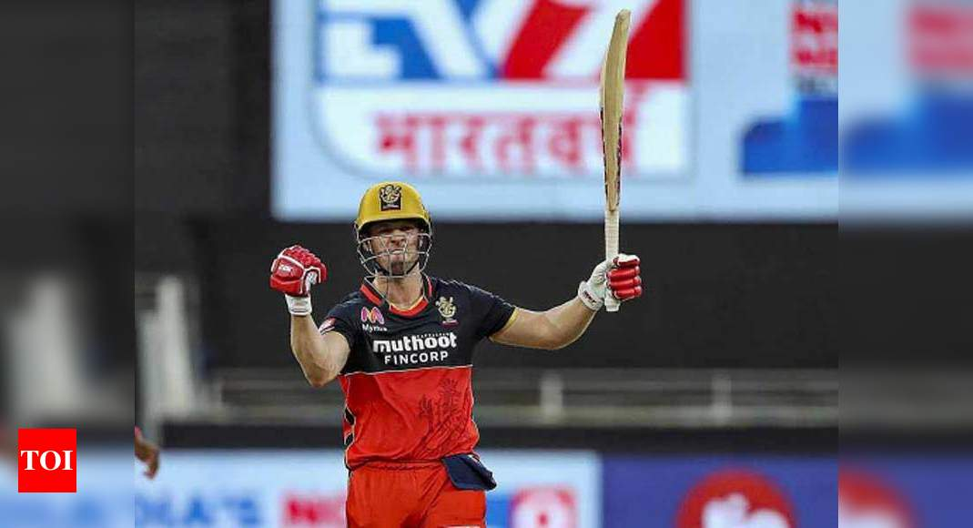 IPL 2020: I get very stressed like any player while chasing, says AB de Villiers | Cricket News – Times of India