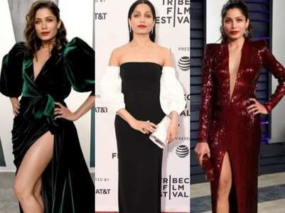 HBD Freida Pinto: Stunning red carpet looks