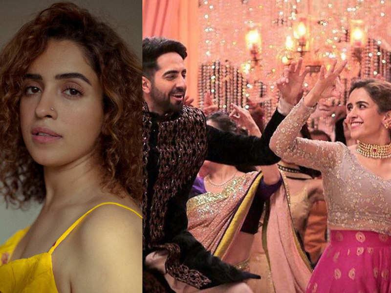 2 Years of 'Badhaai Ho': Sanya Malhotra reminisces her memories of working with Ayushmann Khurrana