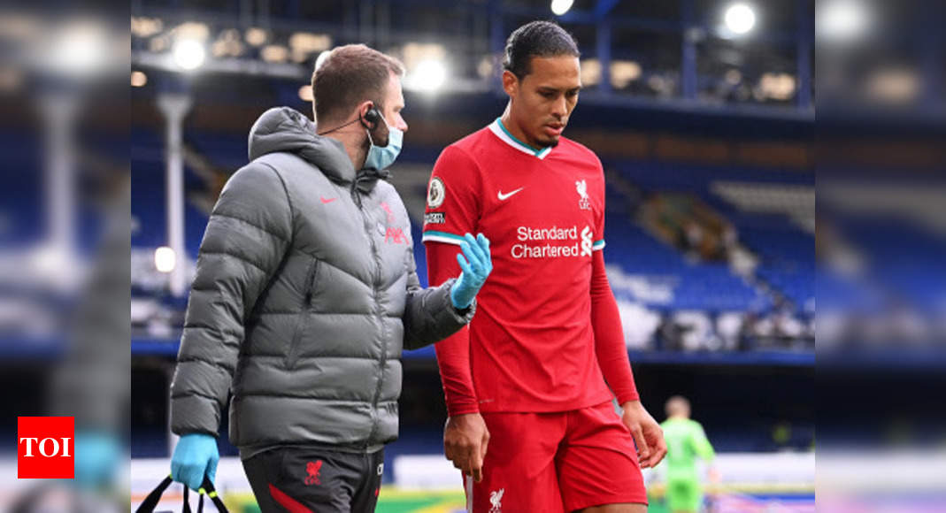 Liverpool confirm knee ligament damage for Van Dijk amid fears season is over | Football News – Times of India