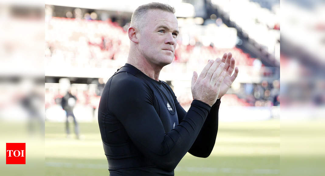 Wayne Rooney awaiting Covid-19 test result after friend's visit   Football News – Times of India