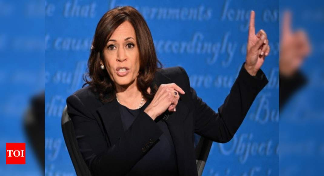 Istandwithkamala Online Campaign In Support Of Harris After Senator Mispronounces Her Name Times Of India