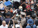 Pro-democracy protests continue across Thailand