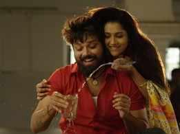 Varun Tej releases the first single from Nandu and Rashmi Gautam's film Bomma Blockbuster titled Raaye Nuv Rae