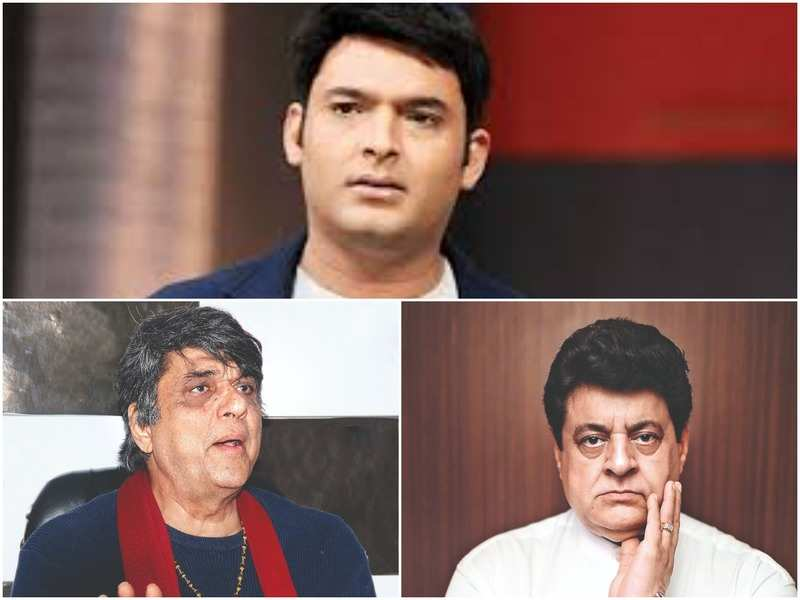 Kapil Sharma, Mukesh Khanna and Gajendra Chauhan