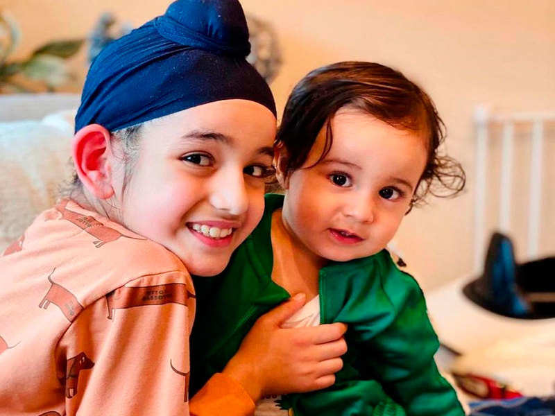 THESE pictures of Gippy Grewal's sons Gurfateh and Gurbaaz Grewal are the cutest things you will see today on the internet