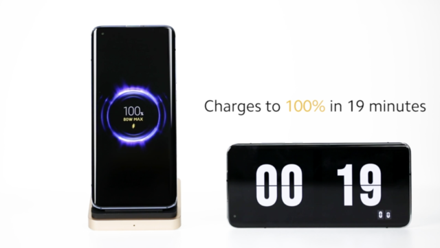 Xiaomi announces 80W fast charging technology