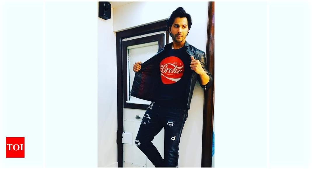 Pictures and videos: Here's a sneak peek into Varun Dhawan's plush bachelor pad – Times of India