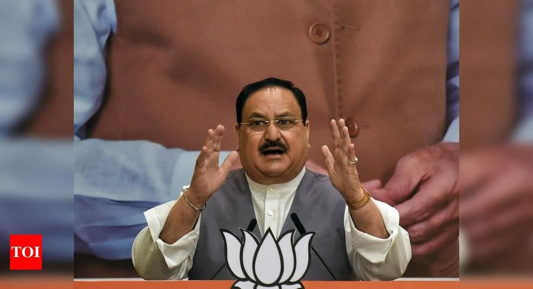 Nadda to address four rallies; NDA meeting in Bihar on Oct 20, 21 | India News – Times of India