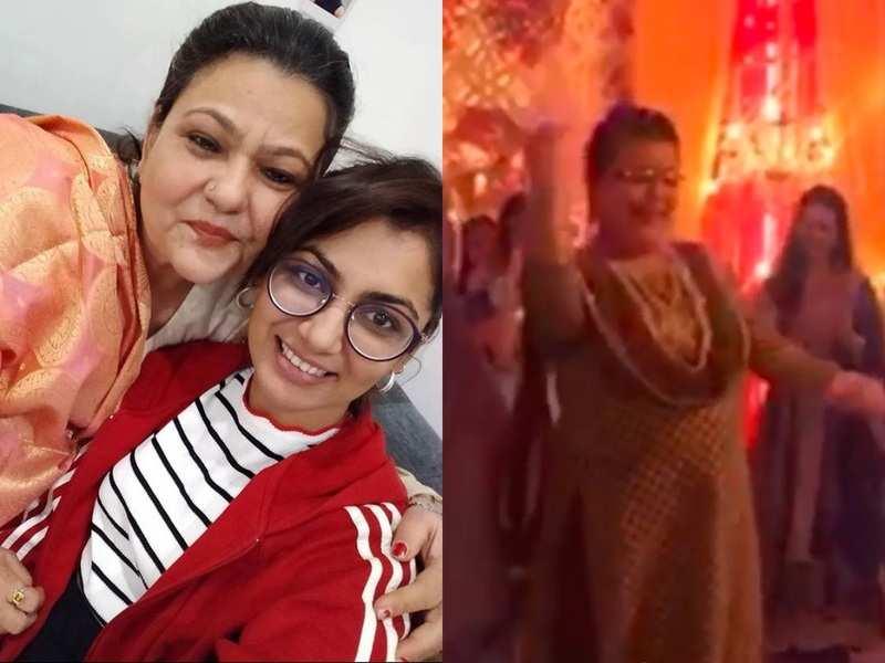 Kumkum Bhagya's Sriti Jha remembers late Zarina Roshan Khan by posting her lively 'Hawa Hawai' dance video