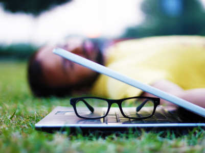 Wearing blue-light filtering glasses to bed can improve sleep quality, says study