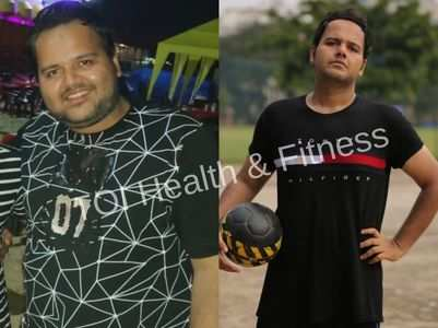 This guy exercised for 2 hours everyday and lost 32 kgs!