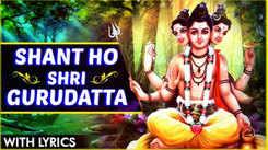Watch Popular Marathi Devotional Song 'Shant Ho Shri Gurudatta' Sung By Shrirang Bhave. Best Marathi Devotional Songs, Devotional Songs, Bhajans, and Pooja Aarti Songs