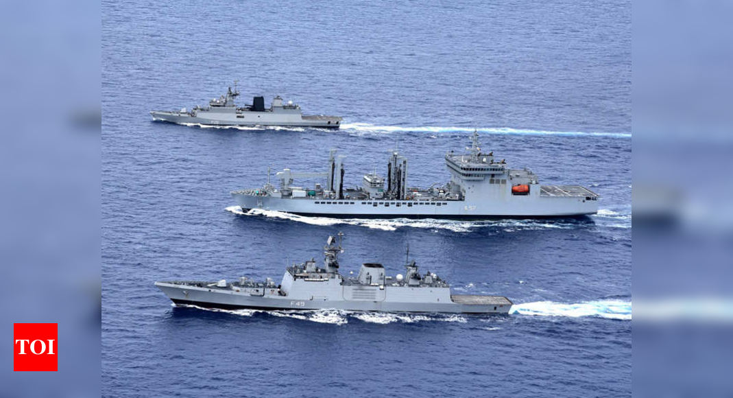 India ups ante against China, invites Australia to join Malabar drill | India News – Times of India
