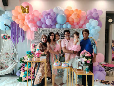 KVB-Teejay celebrate their twins 4th b'day