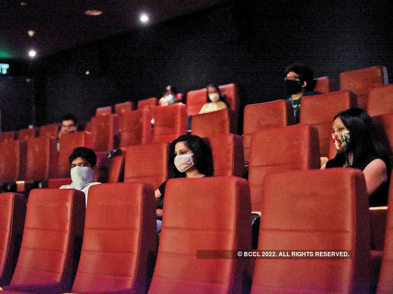 Apart from social distancing, medical experts recommend choosing touchless options whenever possible, and keeping the mask on at all times while inside the theatre (Location courtesy: PVR MGF Mall, Gurgaon)