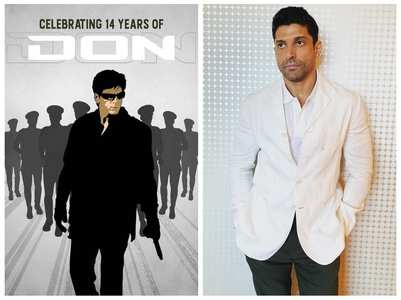 Farhan Akhtar celebrates 14 years of 'Don'