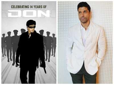 Farhan Akhtar celebrates 14 years of 'Don'