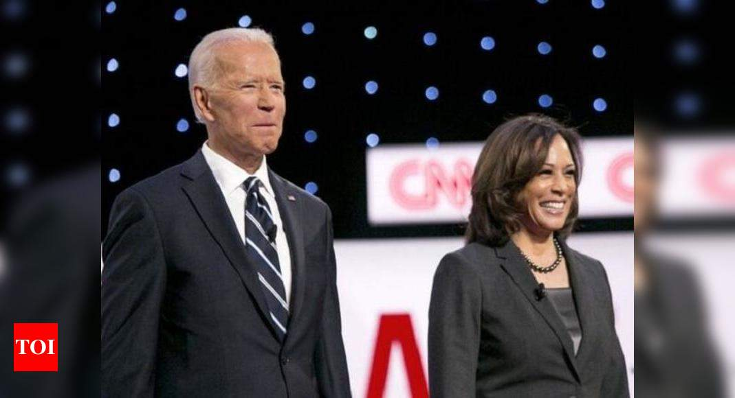 Kamala Harris Eminent South Asians Launch Digital Campaign In Support Of Biden Harris Ticket World News Times Of India