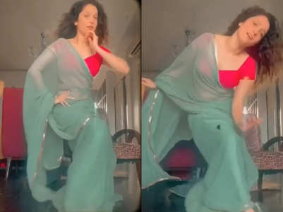 Ankita's dance will leave you mesmerised